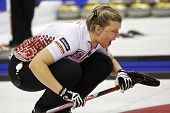 Curling Women Latvia Iluta Linde