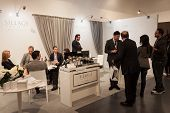 People Visiting Esxence 2014 In Milan, Italy