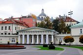 The Presidential Palace In Vilnius, The Official Residence Of The President