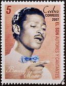 CUBA - CIRCA 2007: A stamp printed in cuba shows Benny More