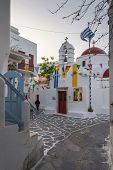 Easter Decoration In Mykonos