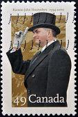 CANADA - CIRCA 2002: A stamp printed in Canada shows Ramon John Hnatyshyn