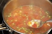 Chicken Soup in a Pan