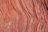 Antelope Canyon Arizona curves texture detail in outdoor