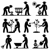 agro people icons