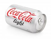 Aluminum Can Of Coca-cola Light