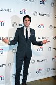 LOS ANGELES - MAR 22:  Ian Somerhalder at the PaleyFEST 2014 -