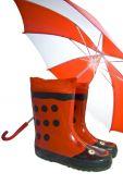 Funny Cheerful Rainboots