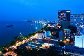 Pattaya Night Scene