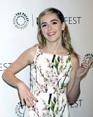 LOS ANGELES - MAR 21:  Kiernan Shipka at the PaleyFEST 2014 -