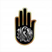 picture of jainism  - Religious Symbol of Jainism - JPG