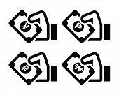 Hand-with-banknote-icons-set-2