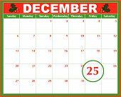 Christmas Day Calendar