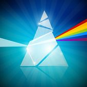 picture of prism  - Transparent Shape  - JPG