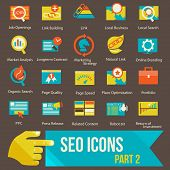 SEO icons set part 2