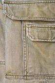 close up of green back pocket background