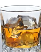 Whiskey Glass Close Up