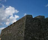 Spanish Fort Exterior Wall