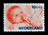 Holland stamp 1966