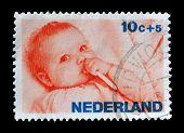 Holland stamp 1966