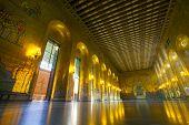 Sweden, Stockholm, Kungsholmen, City Hall, the Golden Room