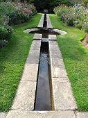 Pond Garden Landscape