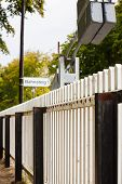 Railway Station Picket Fence