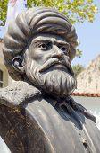 Barbarossa statue, Antalya, Turkey