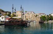 Tourist boats, Antalya Harbour
