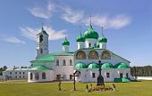 Alexander-svirsky Monastery In Russia