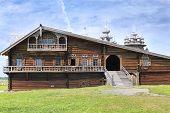 The House Of Karelian Peasant. Russia