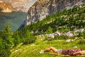 Mountains Around Tre Cime Di Lavaredo - Dolomites, Italy