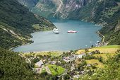 View To The Geirangerfjord