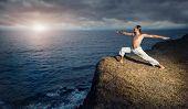 Yoga Near The Ocean