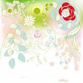 Hand-drawn  background
