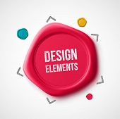 picture of wax seal  - Design elements - JPG