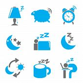 bed time icons