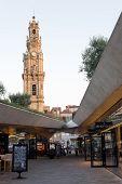 Clérigos Tower and contemporary architecture