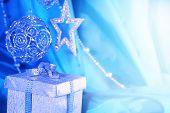 Silver Christmas Decor And Gift