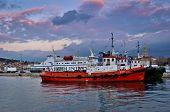 Ships in Split Harbor