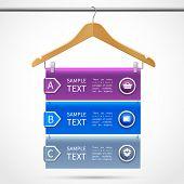 Clothes hanger sale infographics