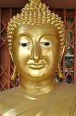 Buda cabeza nueva latón