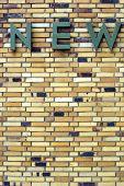 Striking brick wall