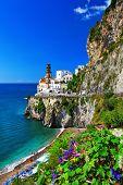 pictorial Amalfi coast - Atrani, Italy