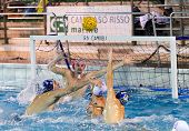 Genova, January 25:  E.prian   ( Goalie Bpm Sport Management )  In Game Bpm Sport Management -rn Cam