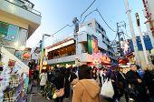 Tokyo, Japan - November 24, 2013: Crowd At Takeshita Street Harajuku