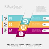 Ribbon Crease Infographic
