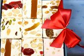 Sweet Nougat Bars In Box