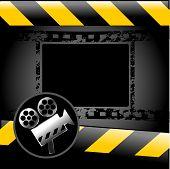 Movie, cinema background