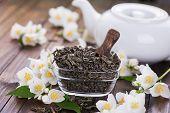 Dry Green Tea With Jasmine